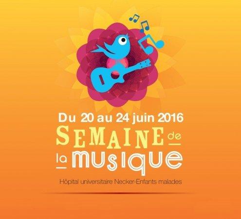 L'hôpital Necker-Enfants malades (AP-HP) fête la musique du 20 au 24 juin 2016 !