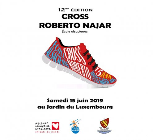 Cross Roberto Najar solidaire à l'Ecole Alsacienne
