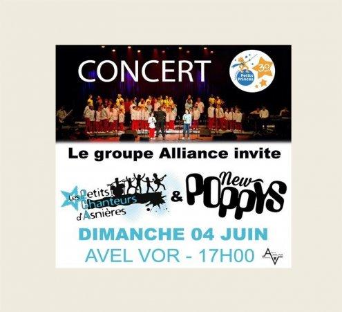 Grand concert solidaire à Plougastel-Daoulas (Finistère)