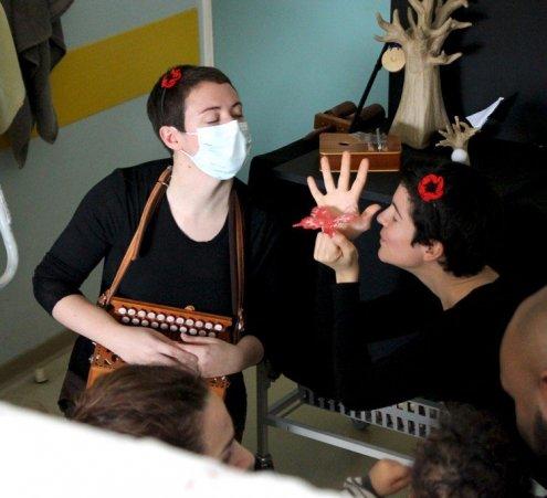 ZouiBap et son spectacle musical à l'hôpital du 1er janvier au 30 juin 2016