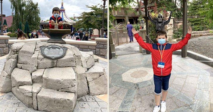 Un rêve à Disneyland Paris pour Alex