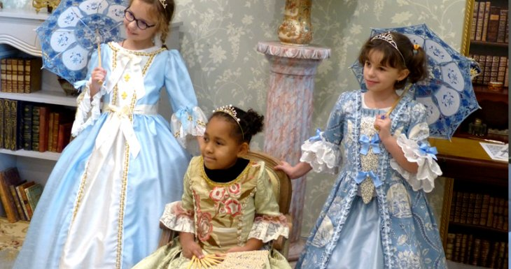 Trois princesses à Versailles