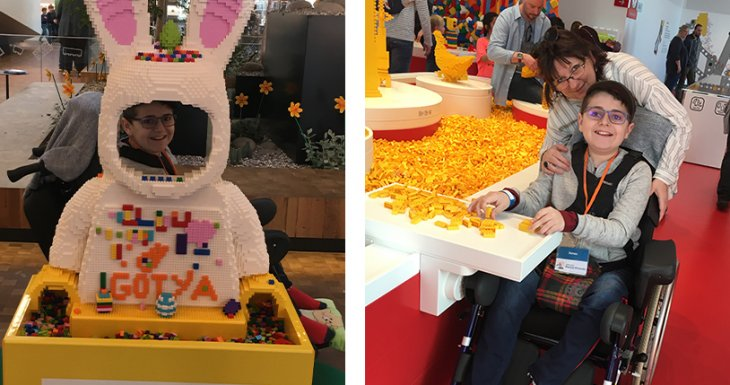 Jonas à Legoland