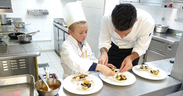 Arthur, apprenti chef cuisinier