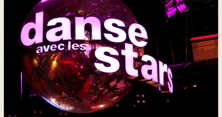 Sur le plateau de Danse avec les stars