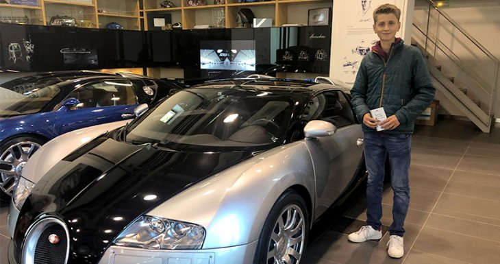 Galaad, passionné de Bugatti