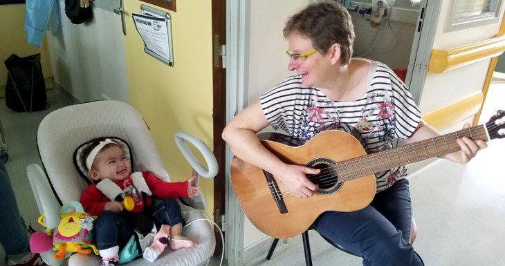 Ateliers musicaux à l'hôpital Robert Debré, AP-HP