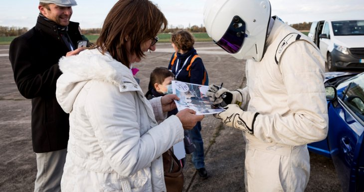 Assister au tournage de Top Gear France