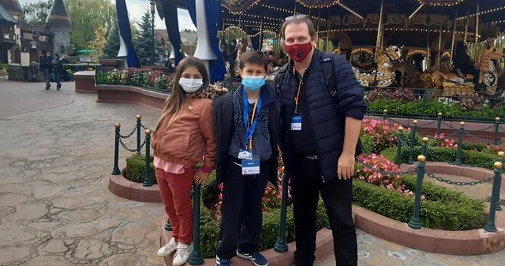 Découverte de Disneyland Paris
