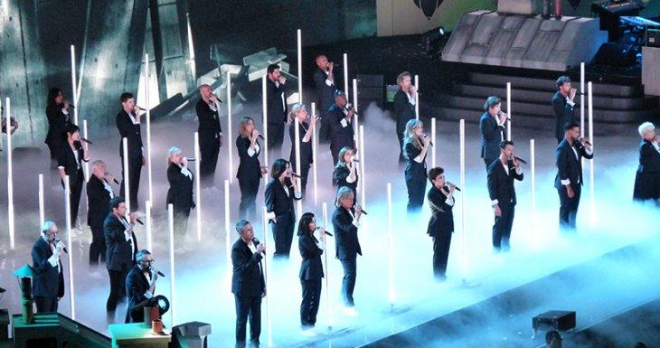 Le concert des Enfoirés, inoubliable !