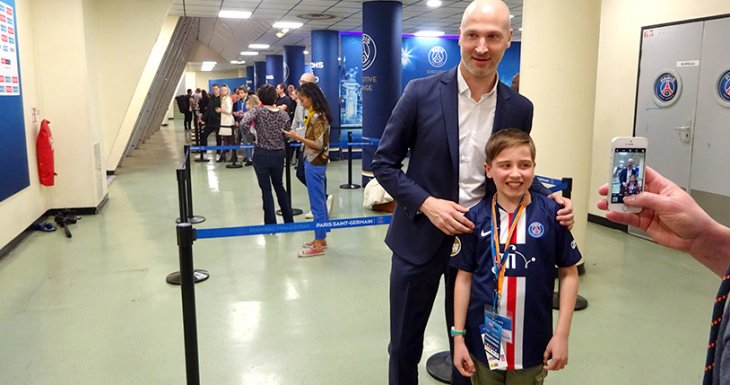 Le handball, une passion familiale