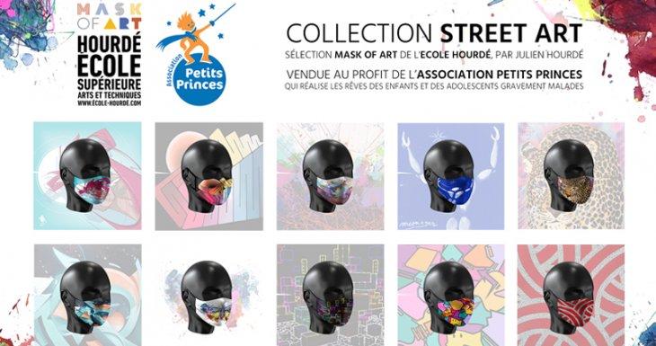 Mask Of Art - Des masques artistiques et solidaires