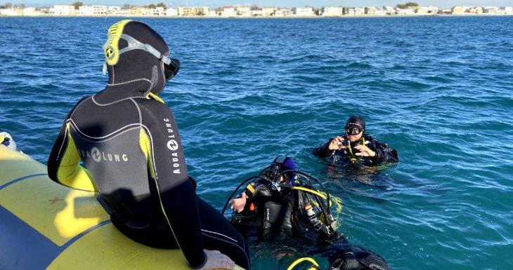 Découvrir les fonds marins