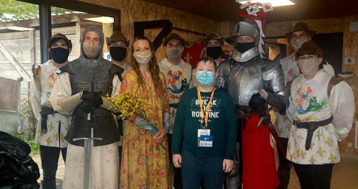 À la rencontre des chevaliers du Puy du Fou