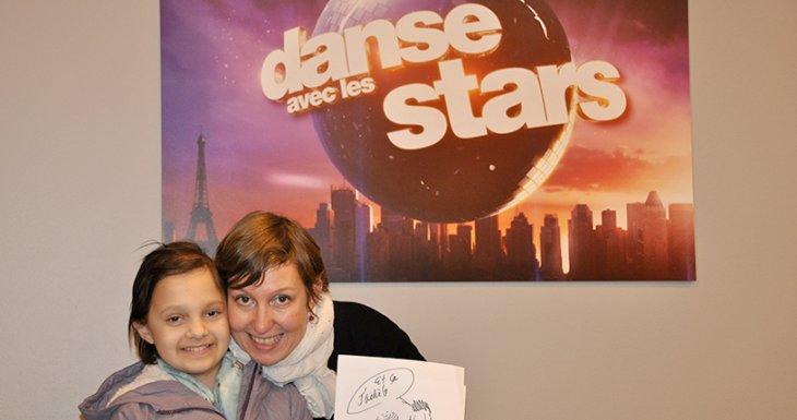 Une princesse danse avec les stars