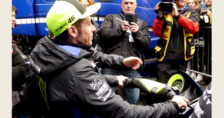 Rencontrer Valentino Rossi