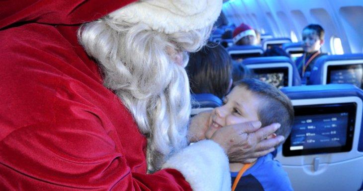 Direction le Pôle Nord pour rencontrer le Père Noël