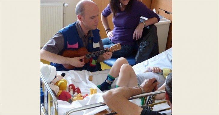 De juin 2014 à juin 2015 : partage musical en chirurgie pédiatrique