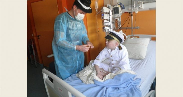 De janvier à décembre 2015 : un magicien en pédiatrie !