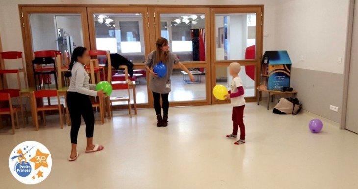 Ateliers danse à l'hôpital Gustave Roussy