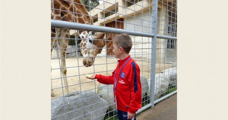 Soigneur au zoo de la Palmyre