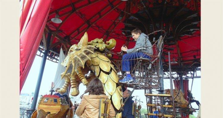 Journée Carrousel à Nantes
