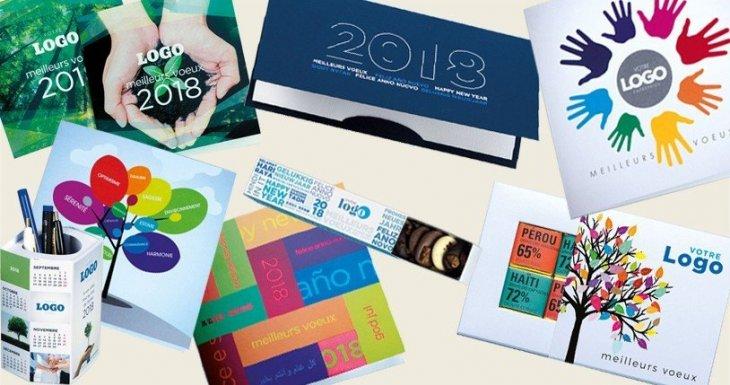 Cartes de voeux entreprises 2018 !