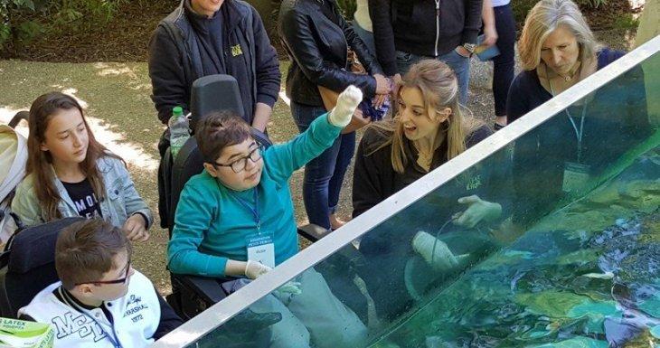 2 passionnés au zoo !