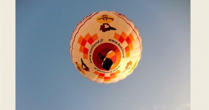 Baptême en montgolfière