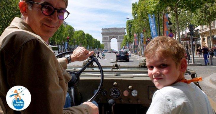 Un rêve, Paris en 2CV, une passion, les militaires