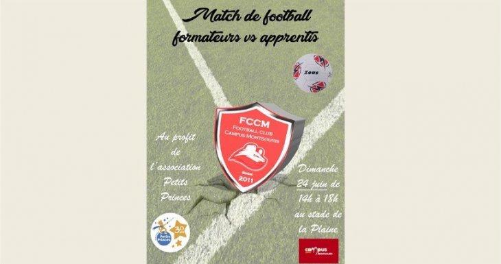 Match de football solidaire