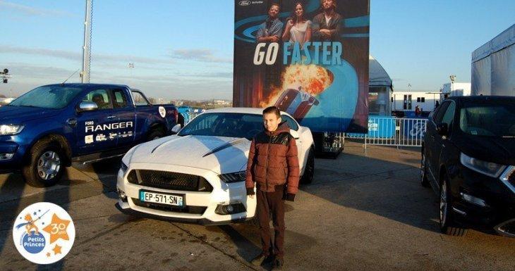 Un rêve en Ford Mustang