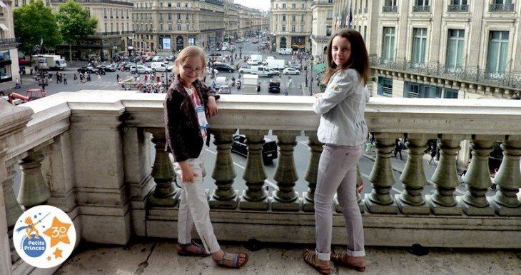 Ninon, 8 ans, dans les coulisses de l'Opéra Garnier