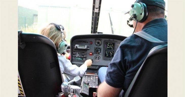 Un vol en hélicoptère mémorable