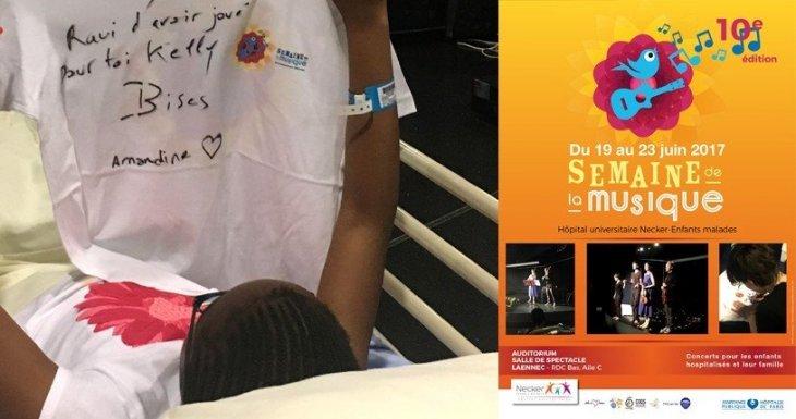 La 10e édition de la Fête de la musique à l'hôpital universitaire Necker-Enfants malades