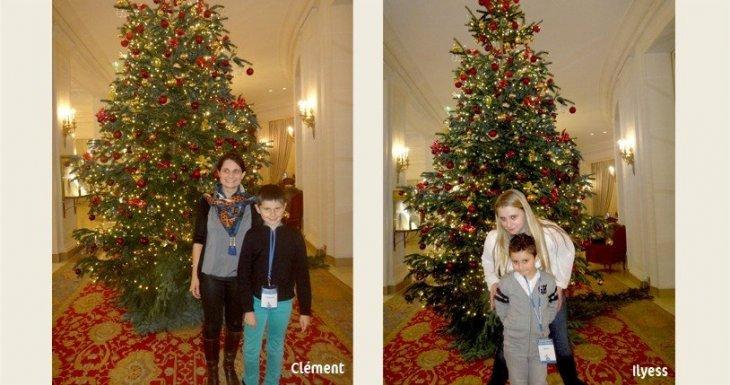 Conte de Noël à l'Elysée