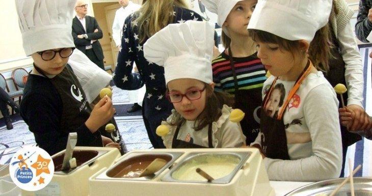 Pâques, atelier chocolat et chasse aux oeufs