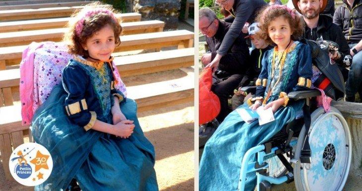Princesse médiévale au Puy du Fou
