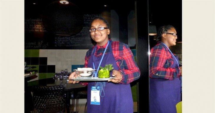 Dans les cuisines d'un chef !