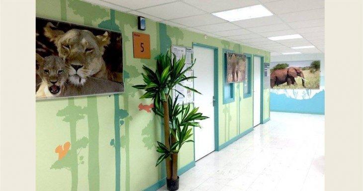 De janvier à août 2016 : La savane à l'hôpital Trousseau