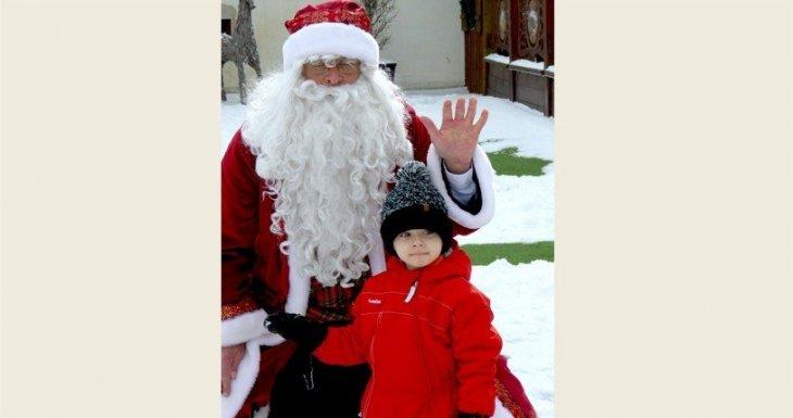 Dans le Hameau du Père Noël...